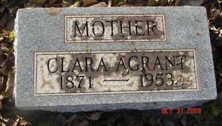 AGRANT, CLARA - Minnehaha County, South Dakota | CLARA AGRANT - South Dakota Gravestone Photos