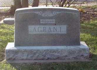 AGRANT, FAMILY MARKER - Minnehaha County, South Dakota   FAMILY MARKER AGRANT - South Dakota Gravestone Photos