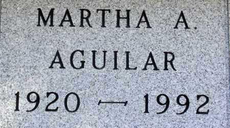 AGUILAR, MARTHA A. - Minnehaha County, South Dakota | MARTHA A. AGUILAR - South Dakota Gravestone Photos