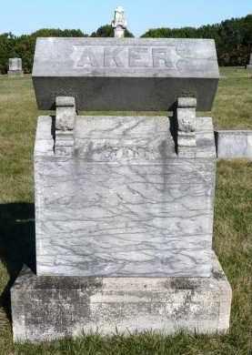 AKER, FAMILY MARKER - Minnehaha County, South Dakota | FAMILY MARKER AKER - South Dakota Gravestone Photos