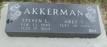 AKKERMAN, STEVEN L. - Minnehaha County, South Dakota | STEVEN L. AKKERMAN - South Dakota Gravestone Photos