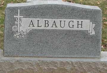 ALBAUGH, *FAMILY MARKER - Minnehaha County, South Dakota | *FAMILY MARKER ALBAUGH - South Dakota Gravestone Photos