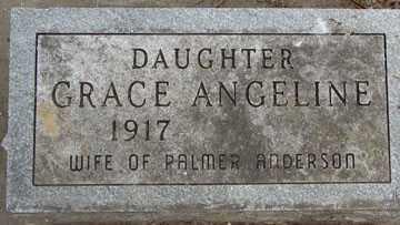 ALBAUGH, GRACE ANGELINE - Minnehaha County, South Dakota | GRACE ANGELINE ALBAUGH - South Dakota Gravestone Photos