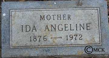 ALBAUGH, IDA ANGELINE - Minnehaha County, South Dakota | IDA ANGELINE ALBAUGH - South Dakota Gravestone Photos
