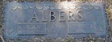 ALBERS, ALVINA R. - Minnehaha County, South Dakota   ALVINA R. ALBERS - South Dakota Gravestone Photos
