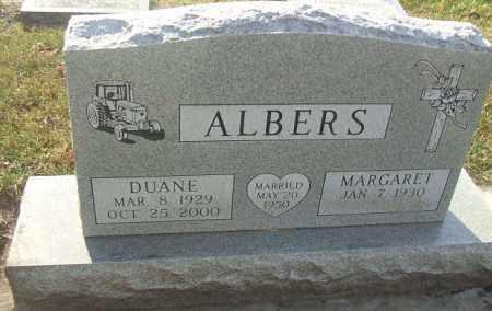 ALBERS, MARGARET - Minnehaha County, South Dakota   MARGARET ALBERS - South Dakota Gravestone Photos