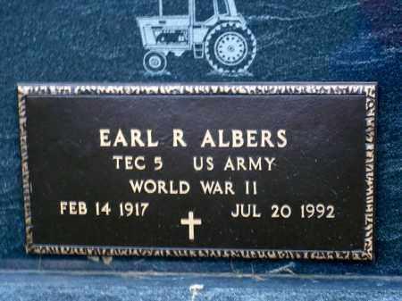 ALBERS, EARL R. - Minnehaha County, South Dakota | EARL R. ALBERS - South Dakota Gravestone Photos