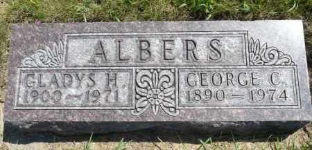 ALBERS, GEORGE C. - Minnehaha County, South Dakota | GEORGE C. ALBERS - South Dakota Gravestone Photos