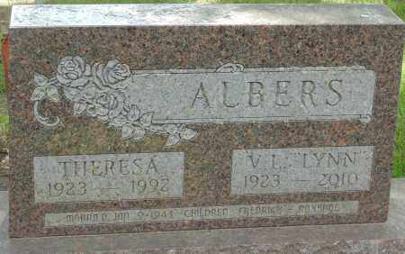 ALBERS, THERESA - Minnehaha County, South Dakota | THERESA ALBERS - South Dakota Gravestone Photos