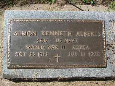 ALBERTS, ALMON KENNETH - Minnehaha County, South Dakota | ALMON KENNETH ALBERTS - South Dakota Gravestone Photos