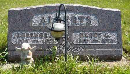 ALBERTS, FLORENCE M. - Minnehaha County, South Dakota | FLORENCE M. ALBERTS - South Dakota Gravestone Photos