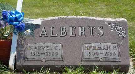 ALBERTS, HERMAN E. - Minnehaha County, South Dakota | HERMAN E. ALBERTS - South Dakota Gravestone Photos