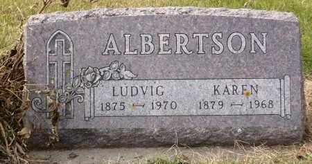 ALBERTSON, LUDVIG - Minnehaha County, South Dakota | LUDVIG ALBERTSON - South Dakota Gravestone Photos