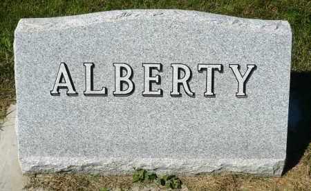 ALBERTY, FAMILY MARKER - Minnehaha County, South Dakota   FAMILY MARKER ALBERTY - South Dakota Gravestone Photos