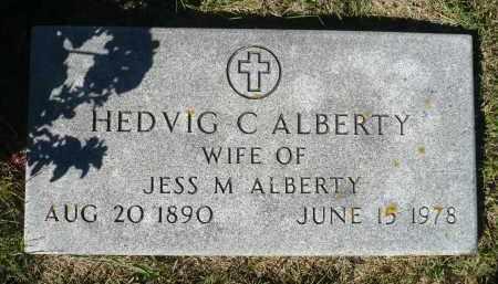 ALBERTY, HEDVIG C. - Minnehaha County, South Dakota   HEDVIG C. ALBERTY - South Dakota Gravestone Photos