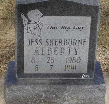 ALBERTY, JESS SHERBURNE - Minnehaha County, South Dakota | JESS SHERBURNE ALBERTY - South Dakota Gravestone Photos