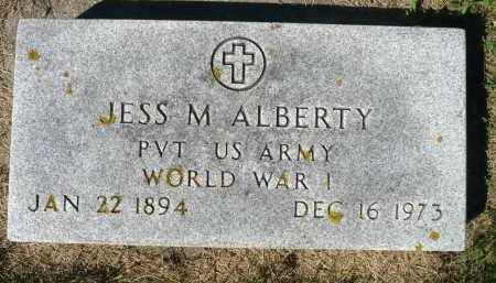 ALBERTY, JESS M. (WWI) - Minnehaha County, South Dakota | JESS M. (WWI) ALBERTY - South Dakota Gravestone Photos