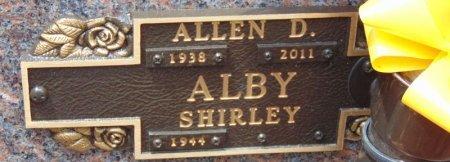 ALBY, ALLEN D. - Minnehaha County, South Dakota | ALLEN D. ALBY - South Dakota Gravestone Photos