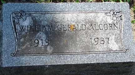 ALCORN, WILLIAM GERALD - Minnehaha County, South Dakota | WILLIAM GERALD ALCORN - South Dakota Gravestone Photos