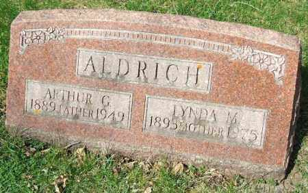 ALDRICH, LYNDA M. - Minnehaha County, South Dakota | LYNDA M. ALDRICH - South Dakota Gravestone Photos
