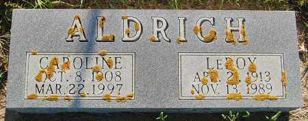 ALDRICH, LEROY - Minnehaha County, South Dakota | LEROY ALDRICH - South Dakota Gravestone Photos