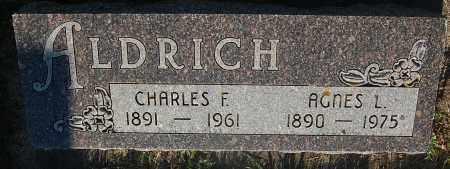 ALDRICH, AGNES L. - Minnehaha County, South Dakota   AGNES L. ALDRICH - South Dakota Gravestone Photos