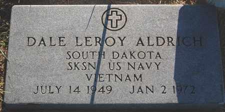 ALDRICH, DALE LEROY - Minnehaha County, South Dakota | DALE LEROY ALDRICH - South Dakota Gravestone Photos