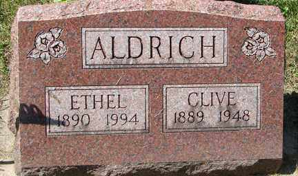 ALDRICH, CLIVE - Minnehaha County, South Dakota | CLIVE ALDRICH - South Dakota Gravestone Photos