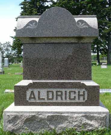 ALDRICH, FAMILY MARKER - Minnehaha County, South Dakota   FAMILY MARKER ALDRICH - South Dakota Gravestone Photos