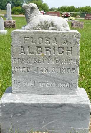 ALDRICH, FLORA A. - Minnehaha County, South Dakota | FLORA A. ALDRICH - South Dakota Gravestone Photos