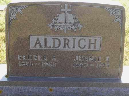 ALDRICH, JENNIE E. - Minnehaha County, South Dakota | JENNIE E. ALDRICH - South Dakota Gravestone Photos