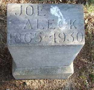 ALECK, JOE - Minnehaha County, South Dakota   JOE ALECK - South Dakota Gravestone Photos
