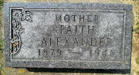ALEXANDER, FAITH THURSTON - Minnehaha County, South Dakota | FAITH THURSTON ALEXANDER - South Dakota Gravestone Photos