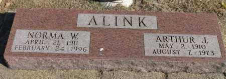 ALINK, ARTHUR J. - Minnehaha County, South Dakota | ARTHUR J. ALINK - South Dakota Gravestone Photos