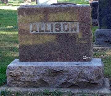 ALLISON, FAMILY HEADSTONE - Minnehaha County, South Dakota | FAMILY HEADSTONE ALLISON - South Dakota Gravestone Photos