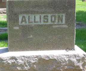 ALLISON, HEADSTONE - Minnehaha County, South Dakota   HEADSTONE ALLISON - South Dakota Gravestone Photos