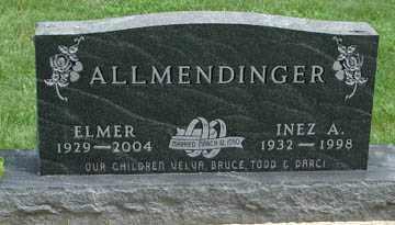 ALLMENDINGER, ELMER - Minnehaha County, South Dakota   ELMER ALLMENDINGER - South Dakota Gravestone Photos