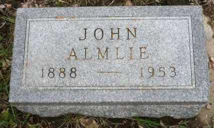 ALMLIE, JOHN - Minnehaha County, South Dakota   JOHN ALMLIE - South Dakota Gravestone Photos