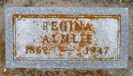 ALMLIE, REGINA - Minnehaha County, South Dakota | REGINA ALMLIE - South Dakota Gravestone Photos