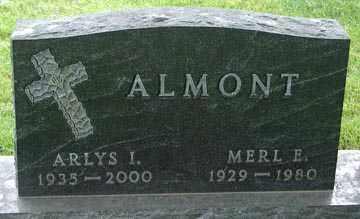 ALMONT, MERL E. - Minnehaha County, South Dakota | MERL E. ALMONT - South Dakota Gravestone Photos