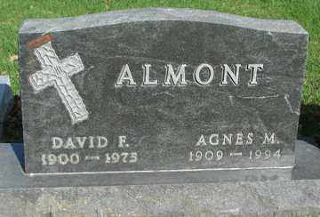 ALMONT, AGNES M. - Minnehaha County, South Dakota | AGNES M. ALMONT - South Dakota Gravestone Photos