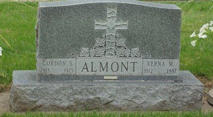 ALMONT, VERNA M. - Minnehaha County, South Dakota | VERNA M. ALMONT - South Dakota Gravestone Photos