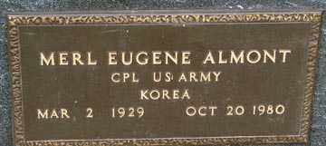 ALMONT, MERL EUGENE - Minnehaha County, South Dakota | MERL EUGENE ALMONT - South Dakota Gravestone Photos