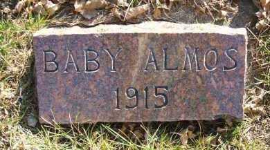 ALMOS, INFANT - Minnehaha County, South Dakota   INFANT ALMOS - South Dakota Gravestone Photos