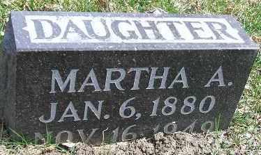 ALMOS, MARTHA A. - Minnehaha County, South Dakota | MARTHA A. ALMOS - South Dakota Gravestone Photos