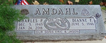 AMDAHL, DIANNE F. - Minnehaha County, South Dakota | DIANNE F. AMDAHL - South Dakota Gravestone Photos