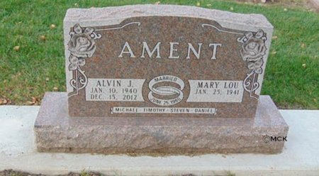AMENT, MARY LOU - Minnehaha County, South Dakota | MARY LOU AMENT - South Dakota Gravestone Photos