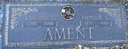 AMENT, EDWARD T. - Minnehaha County, South Dakota | EDWARD T. AMENT - South Dakota Gravestone Photos