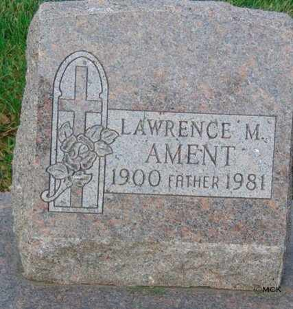AMENT, LAWRENCE M. - Minnehaha County, South Dakota | LAWRENCE M. AMENT - South Dakota Gravestone Photos
