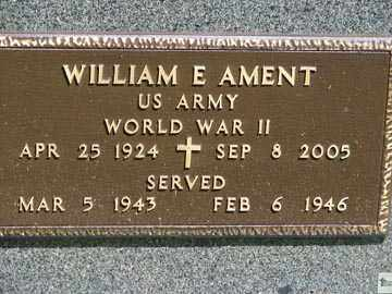 AMENT, WILLIAM E. - Minnehaha County, South Dakota | WILLIAM E. AMENT - South Dakota Gravestone Photos